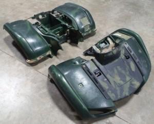Plastikinių detalių remontas keturračiams ir kitiems ATV